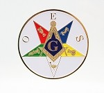 Order of the Eastern Star Past Patron Car Badge